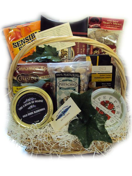 Diabetic Healthy Christmas Gift Basket | Gift Baskets for ...