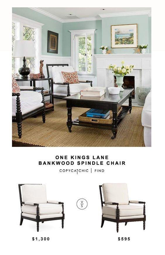 One Kings Lane Bankwood Spindle Chair