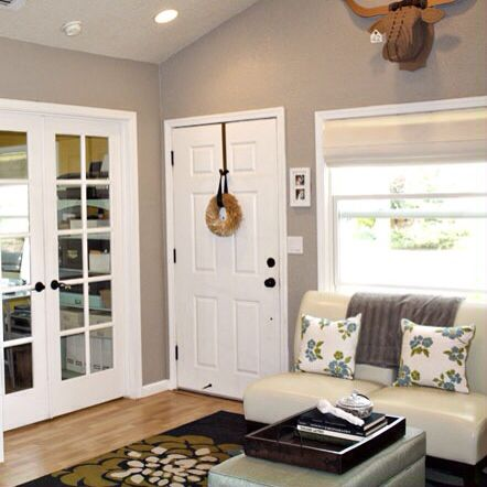 This is the project I created on Behr.com. I used these colours ...