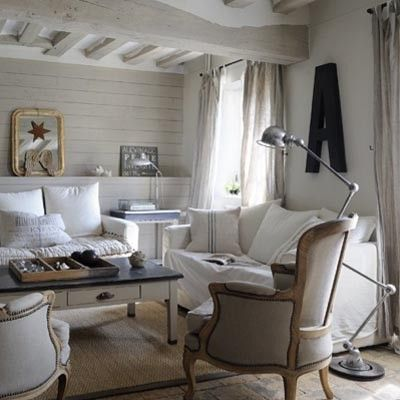 Déco ambiance bord de mer! | Salons, Decoration and Living rooms