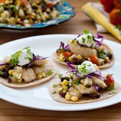 Fresh, fast, and easy fish tacos