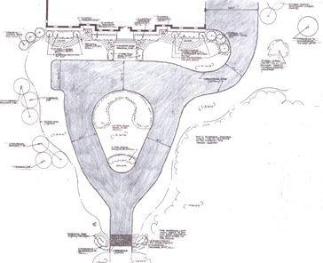 Teardrop Driveway Plan With Parking Alanna Tj 39 S House