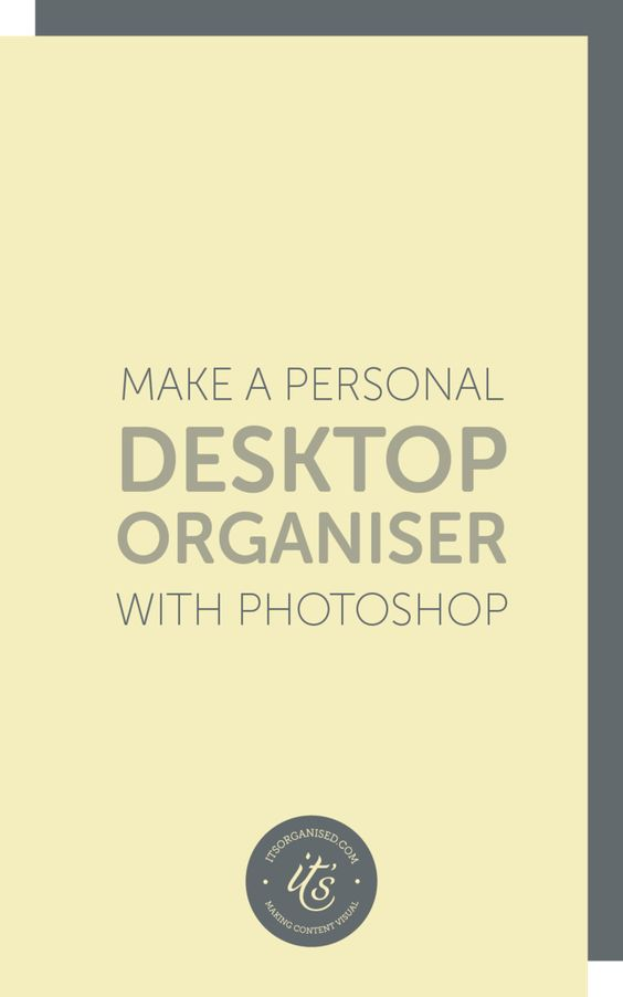 Today's video will introduce you to Photoshop Layers using a free Desktop Organiser Template. You can learn all about layers and create a lovely, personalised desktop background in the process.