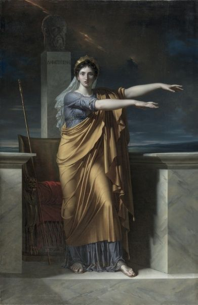 Polyhymnia, Muse of Eloquence, 1800 Charles Meynier (French, 1768-1832)| Cleveland Museum of Art