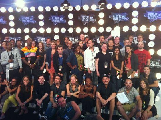 2011 VMAs - MTV News Class Photo.