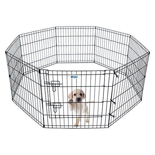 Hachi Shop Pet Playpen Foldable Exercise Pen For Dogs Cats Rabbits 24 Inches 24 Dog Playpen Pet Playpens Puppy Playpen