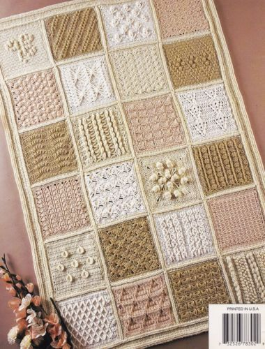 Special-Stitches-Sampler-Annies-Attic-Crochet-Afghan-Pattern-Booklet-878302
