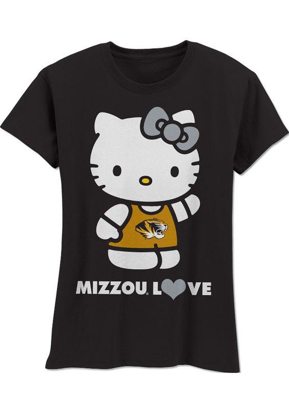 Missouri Tigers T-Shirt - Toddler Black Hello Kitty Love Me Do T-Shirt http://www.rallyhouse.com/shop/missouri-tigers-missouri-tigers-tshirt-toddler-black-hello-kitty-love-me-do-tshirt-200616?utm_source=pinterest&utm_medium=social&utm_campaign=Pinterest-MizzouTigers $22.99