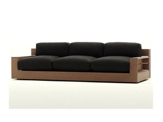 Sillón de madera rosario muebles para living comedor amoblamientos ...