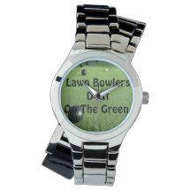 Lawn_Bowlers_Do_It_Ladies_Silver_Wrap_Watch Wristwatch