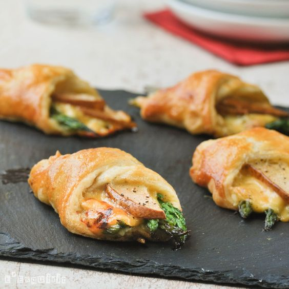 Pear and Asparagus Puff Pastry. >> Sounds divine!