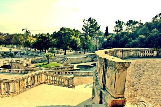 Nimes Jardin De La Fontaine That Way Nimes France Park