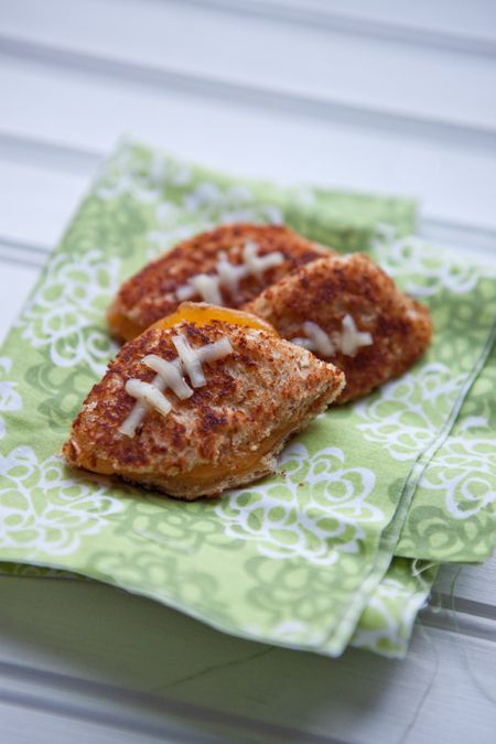 Grilled Cheese Footballs