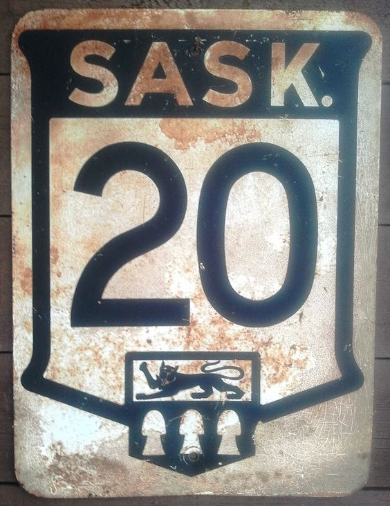 Vintage Highway Signs 95