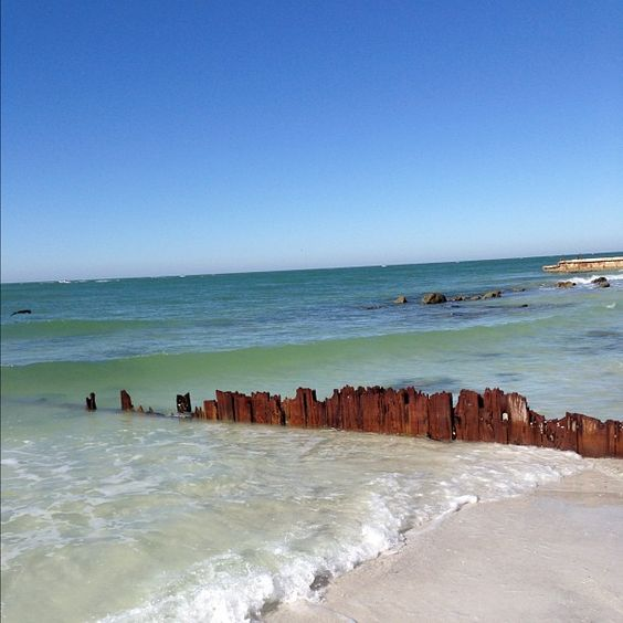 Old wooden sea wall #1. Beautiful! #love #instagood #me #tbt #cute #photooftheday #instamood #tweegram #iphonesia #fall #beach #november #waves #siestakey http://instagram.com/p/SeUUHloEHB/