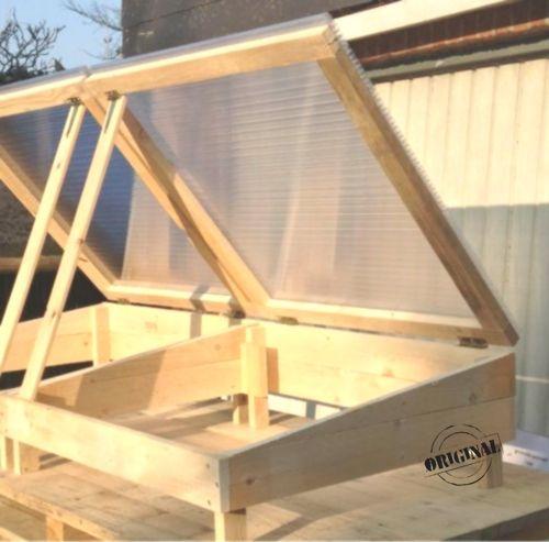 Fruehbeet Kasten Mini Gewaechshaus Anzuchtkasten Hochbeet Aufsatz Wunschmasse Cold Frame Mini Greenhouse Raised Beds