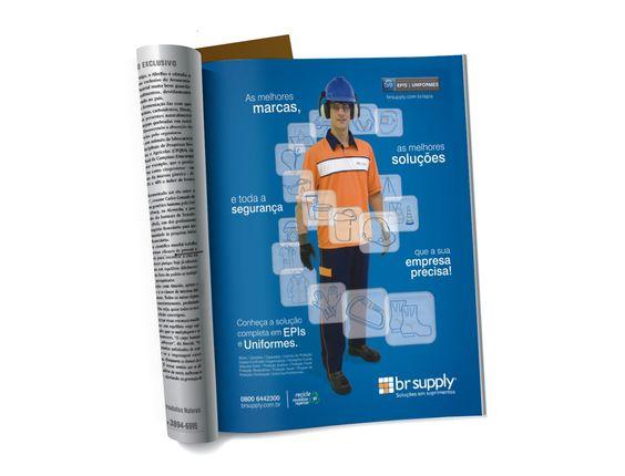EPI/Uniformes - Anúncio 1 página