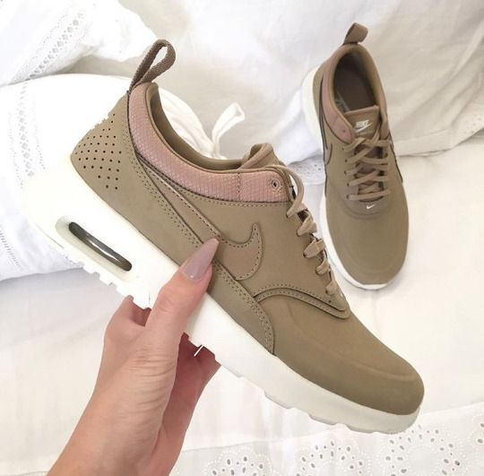 Nike Air Max Thea Leather Beige