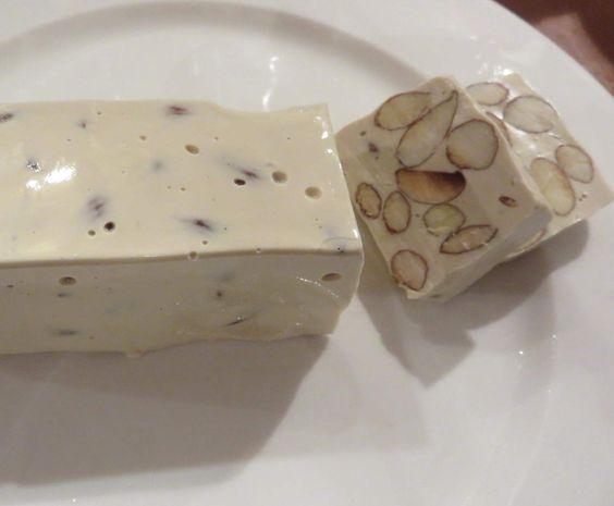 Rezept Französicher Nougat / Türkischer Honig / Weißer Nougat von Mixitrixi - Rezept der Kategorie Desserts