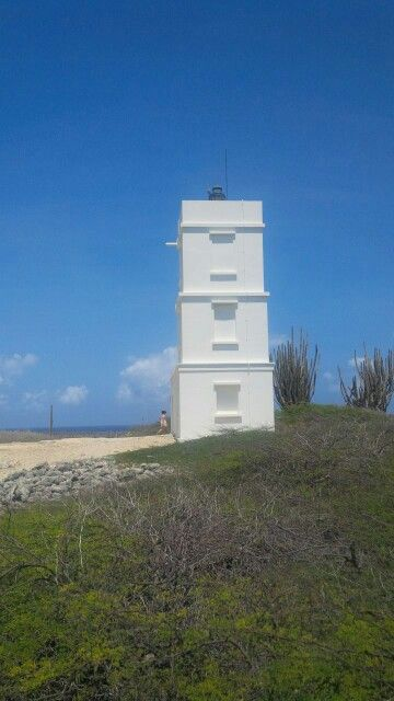 Faro de Bentana. Norte de Bonaire. Antillas holandesas