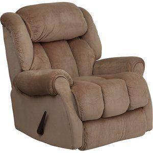 Flash Furniture Contemporary Champion Microfiber Chaise Recliner