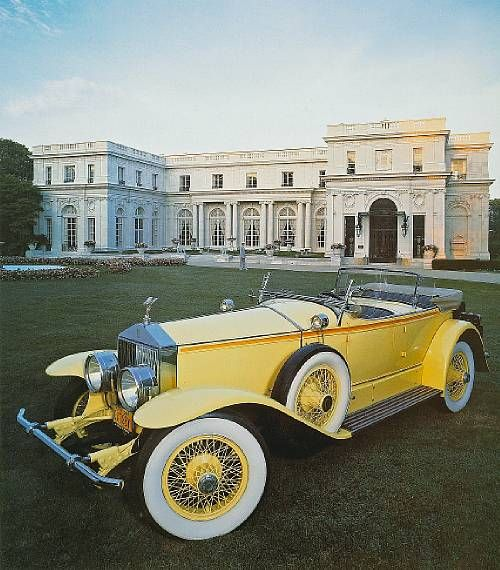 Rolls Royce Gatsby.. put foot on the place near the door under it..