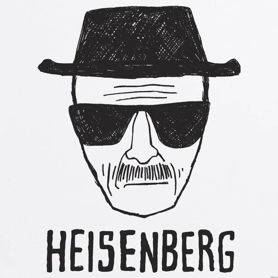 heisenberg drawing drawing of walter white dressed as hisenberg e n t e r t a i n m e n t. Black Bedroom Furniture Sets. Home Design Ideas