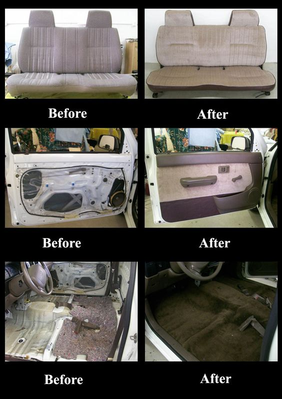 toyota truck interior re upholstered seat door panels and