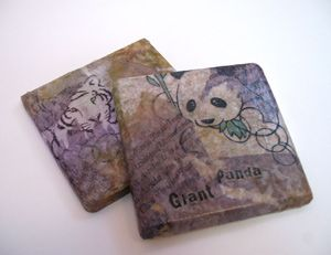 Decoupage Tile Coasters