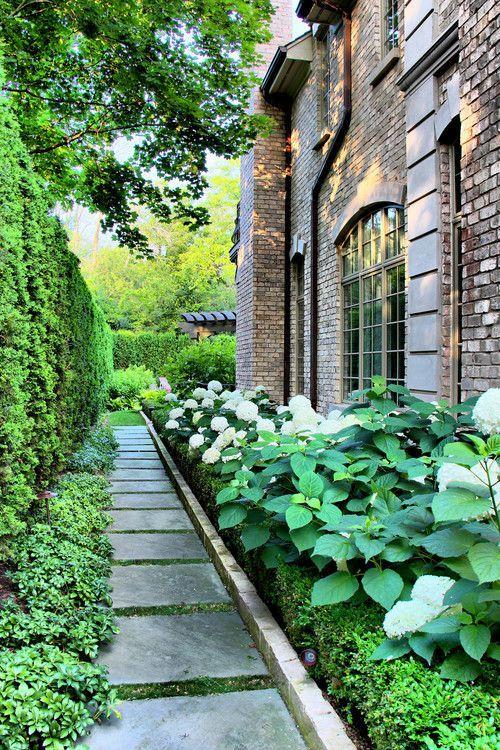 Side Yard Garden Landscaping Design Walkway Ideas Pinterest