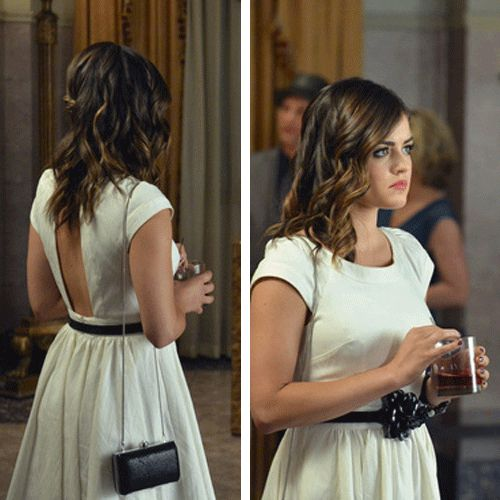 Aria's white dress from PLL