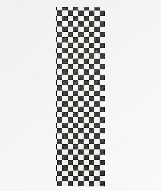 Goodwood Checkered Black & White Grip Tape | Zumiez in 2021 | Grip ...