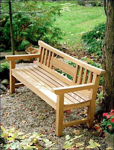 Japanese Garden Bench Project Plan Wood Stuff Pinterest Gardens Happy And Joinery