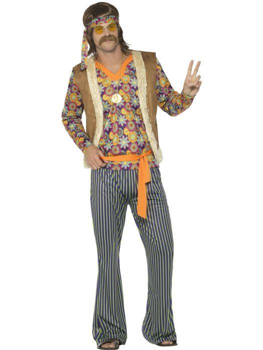 Hippi Hemmo Naamiaisasu Hippityyli Vaatteet