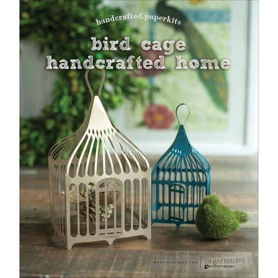 Websters Pages Handcrafted Paperkit - Home: Birdcage - Click to enlarge