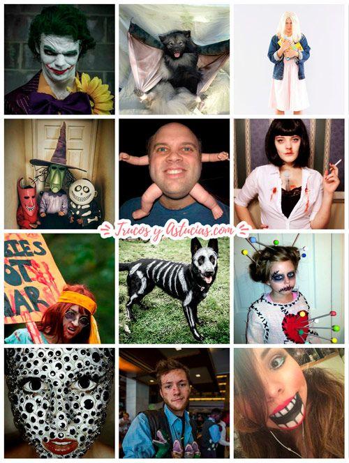 40 Disfraces Caseros Para Halloween Niños Adultos Mascotas Trucos Y Astucias Disfraces Caseros Halloween Niños Disfraces