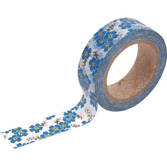 These tapes are perfect to use on any of your paper projects! Use these tapes as a border to make unique scrapbook pages! This tape has the perfect amount of adhesive; letting the tape hold firm when