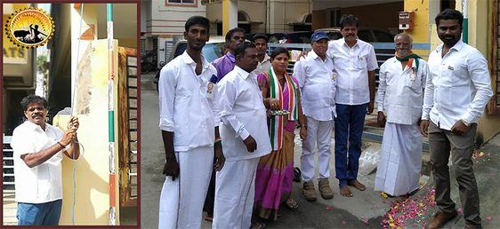 சாலிகிராமத்தில் கலப்பை மக்கள் இயக்கம் சார்பாக குடியரசு தின விழா