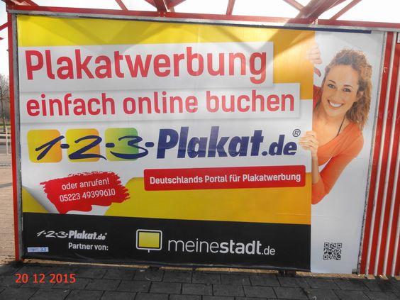 739. - Plakat in Stockach. / 20.12.2015./