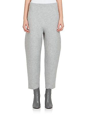 Stella McCartney Boiled Wool Pants - Screw - Size 44