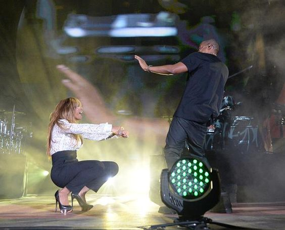 Beyonce & Jay Holy Grail At Global Citizen Festival 27.09.2014