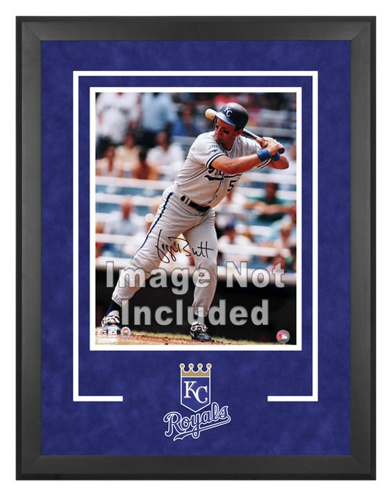 Kansas City Royals Deluxe 16x20 Vertical Photograph Frame