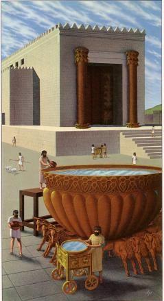 Another view of Solomon's Temple.   Historia bíblica ...