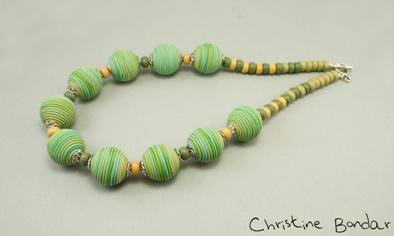 Pistachio green necklace | Flickr - Photo Sharing!