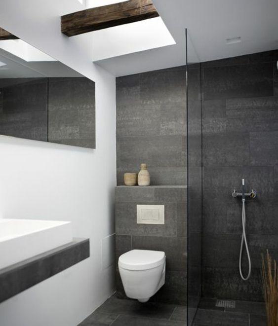 kleines bad fliesen helle fliesen lassen ihr bad gr er erscheinen bad pinterest. Black Bedroom Furniture Sets. Home Design Ideas