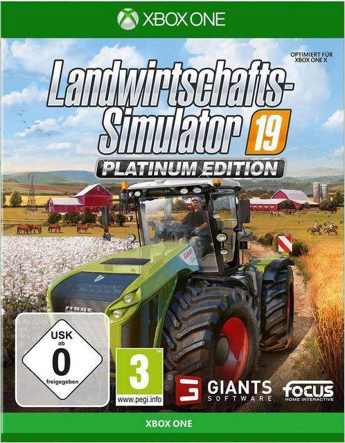 Landwirtschafts Simulator 19 Platinum Edition Xbox One Software Pyramide Online Kaufen In 2020 Landwirt Landwirtschaft Pyramiden