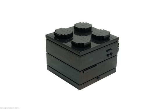 Mike Schropp (previously) has created a computer with a LEGO case that is shaped like a large LEGO block. This isn't the first time Schropp has created a LEGO computer, however, as he made on…