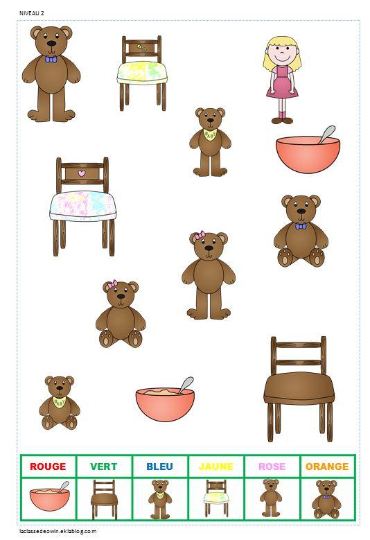 Jeux d 39 observation pour la maternelle printables pinterest - Jeux d hotel pour animaux ...