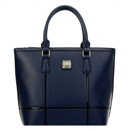 Bolsa Feminina Queens Paris VQB6079 | Loja Vivi Tonin Online - Azul