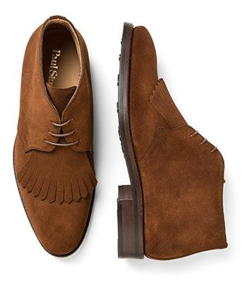 Paul Stuart - Tan Suede Chukka Boot